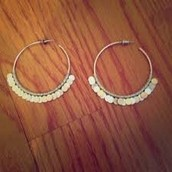 Small Fringe Earrings - Silver (this is a picture of the bigger size)