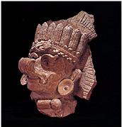 The Maya corn god