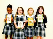 We became members of the Superkids Book Club!