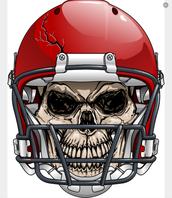 Skull football playa