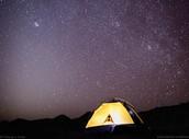 Acampar bajo Estrellas