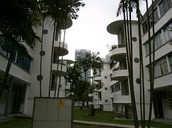 Picture of Housings in Tiong Bahru estate.