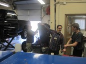 Repairing an Exhaust System! Nice work guys!