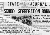 Brown vs the Board of Education (1954)