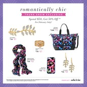Romantically Chic Exclusives for you!