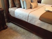 BASSETT King Size Bed (another view)
