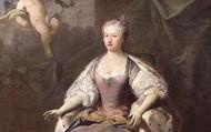 Queen Caroline wearing Georgian Silk