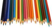 Un crayon de couleur