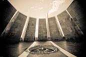 A memorial in Armenia