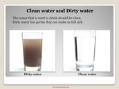 Dirty water v. Clean water