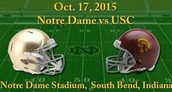usc vs. Notre Dame Gamewatch