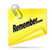 Reminders~