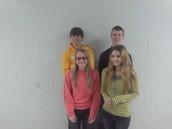 Maddy K , Katie F , Zac B, Jacob W