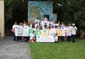 Camp for children with juvenile rheumatoid arthritis