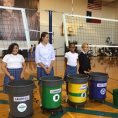 School-wide composting