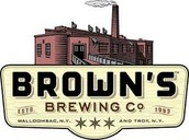 Brown's Brewery Tasting 5-8 in the Thirst Aid Lounge