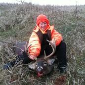 my first deer