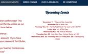 Mrs. Bennis' Webpage