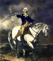 George Washington on his noble horse