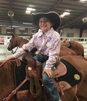 """Mrs. Moreland has been a """"rodeo mom"""" for Cassidy this week"""