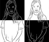 132. Positive & Negative Portraits