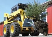 Лопата-ковш для посадки деревьев и кустарников
