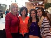 Stormie Omartian and Gina, Alyssa, Amanda Bustamante