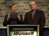 Bill and Paul at Microsoft