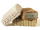 love these soaps with crochet covers
