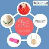 Gifts for your sister!