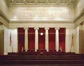 Inside of the Supreme Court