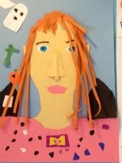 Third Grade Self Portraits