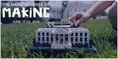 National Week of Making June 17 – 23, 2016