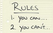 Establishing Rules