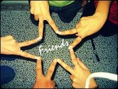 We all stick together like a star!!