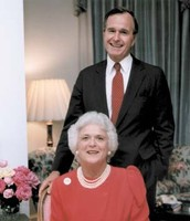 George HW & Barbara Bush