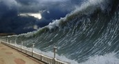 How are Tsunamis created?