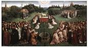 The Ghent Altarpiece Adoration