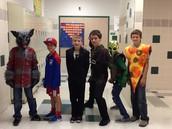 3rd period Boys Halloween costumes!