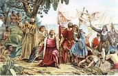 Columbus Landing in America