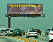 Don't text and drive...