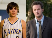 Matthew Perry and Zac Efron