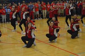 MC Dance Team Brings Down the House!