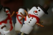 Snowman for How to Activity