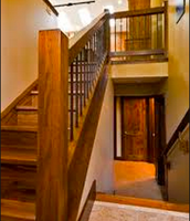 Side-by-side stairs