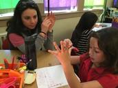 A Student Teacher Confers