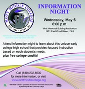 Mott Middle College Information Night