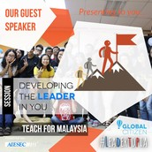 """Developing the Leader in You"" - Session by TFM"