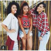 Madeline, Desiree, Ariel