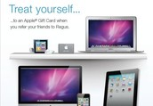 Get an Apple Gift Card when you refer your friends to Regus.
